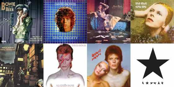 David Bowie - vinyl reissues