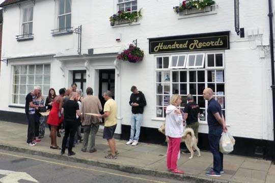Hundred Records, Romsey from outside