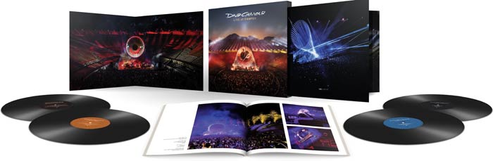 David Gilmour – Live At Pompeii vinyl version
