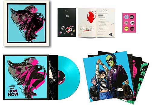Gorillaz – The Now Now deluxe LP box set