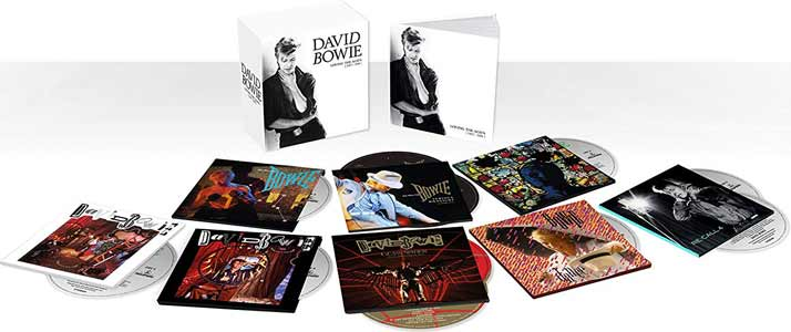 David Bowie – Loving The Alien (1983-1988) deluxe CD box set