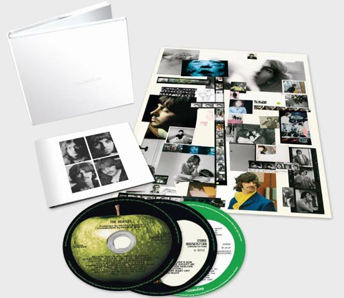 The Beatles – White Album 50th anniversary deluxe 3-CD set