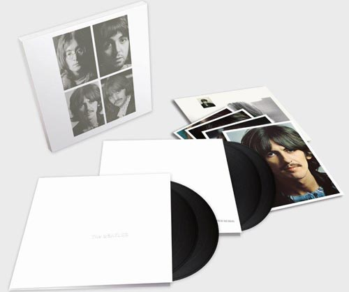 The Beatles – White Album 50th anniversary deluxe 4-LP set