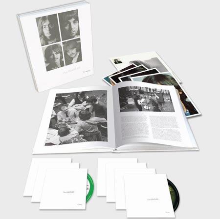 The Beatles – White Album 50th anniversary super deluxe 7-disc set