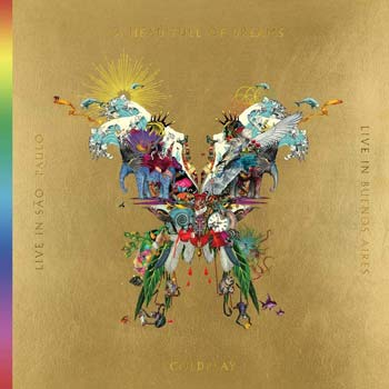 Special pre-sale offer: Coldplay – Live In Buenos Aires / A Head Full Of Dreams / Live In São Paolo