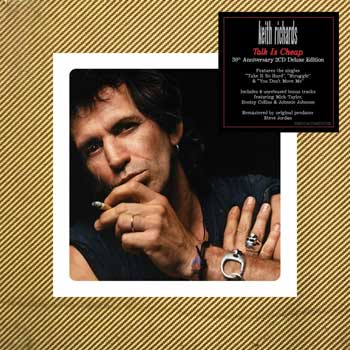 Keith Richards - Talk Is Cheap (30th Anniversary)