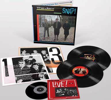 "The Jam – Snap! 2-LP + 7"" set"