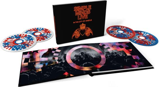 Simple Minds – Live In The City Of Angels box set